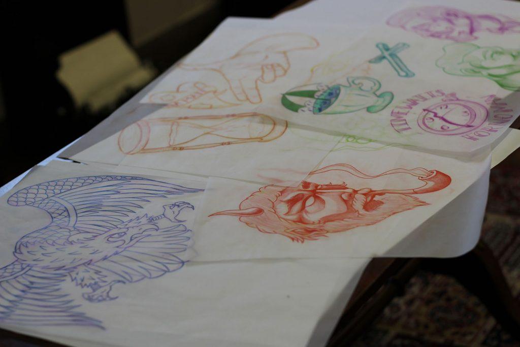 Kamen's Sketches: A selection